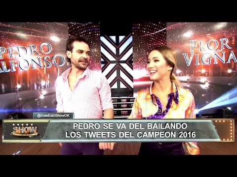 Pedro Alfonso habló sobre su renuncia al Bailando y cómo será su despedida