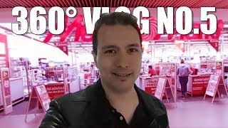 360° Vlog No. 5: My First Windows Headset & How To Make A Green Screen Yourself