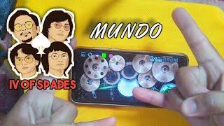 IV Of Spades-Mundo (Rock Version) Realdrum App Cover By TUGS'TUPAKK!