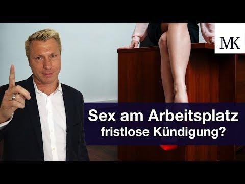 Sex am Arbeitsplatz: Fristlose Kündigung als Folge? #FragMingers