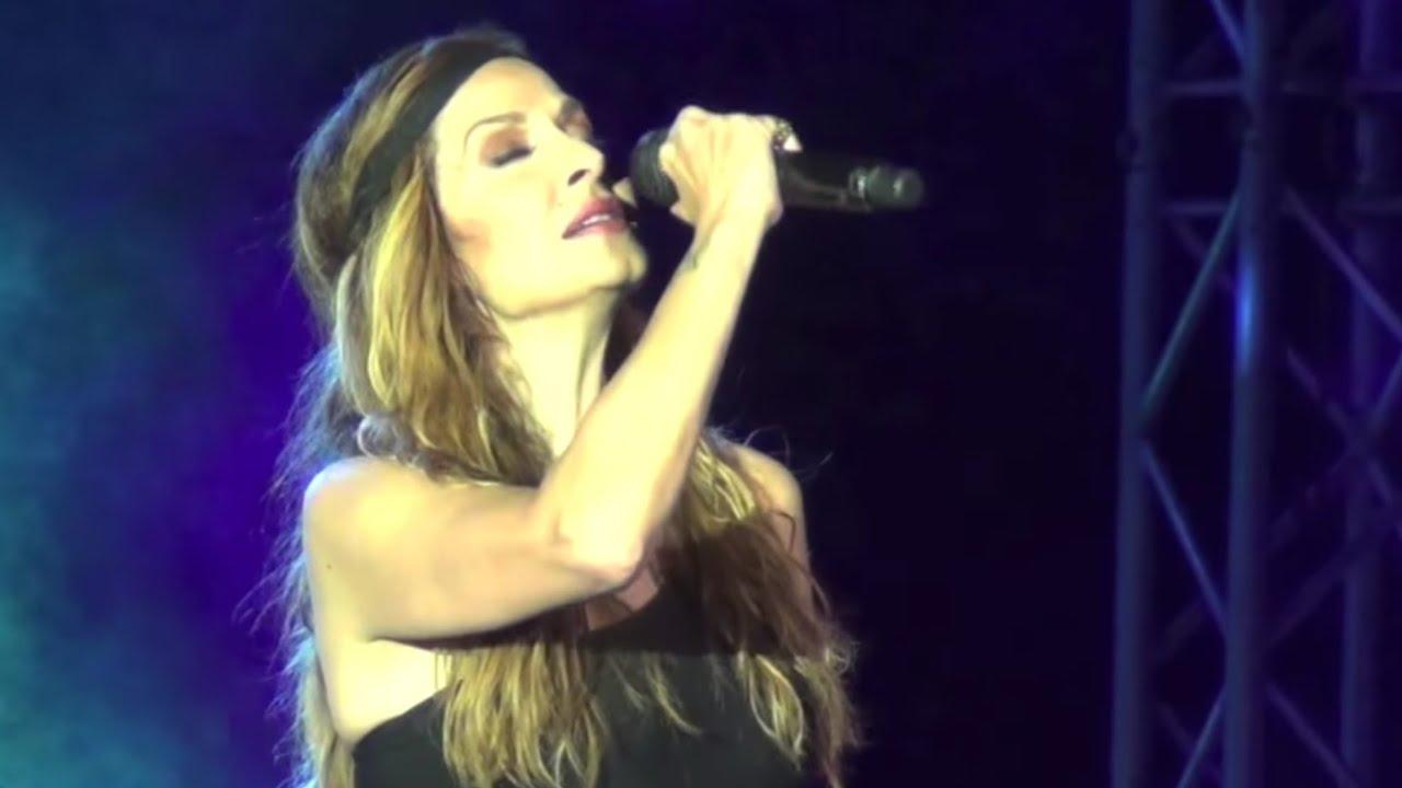 Άννα Βίσση - Κλείνω Τα Μάτια / Δαίμονες Finale, Λεμεσός, Περιοδεία Άννα Με Πάθος (27/07/2013)