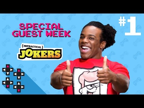 Special Guest Week: Impractical Jokers, Paige & EA Sports UFC 2 Part 1 — Superstar Savepoint
