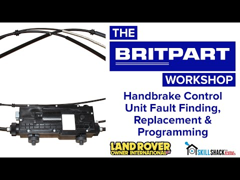 Handbrake Control Unit Fault Finding, Replacement & Programming in a D3, D4 and Range Rover Sport