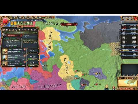 Europa Universalis IV: Great Khan Mongolia 14 - WhackaMuscovy