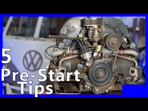 5 Tips to Starting a used VW Engine / Make sure you do This!