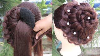 Most easy hairstyle for girls step by step || hair style girl 2020 new || braided hairstyles