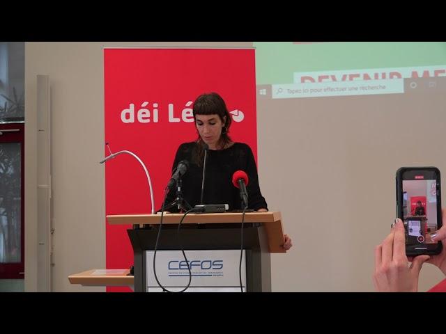 Prise de parole Nathalie Oberweis, députée, au 18e congrès ordinaire