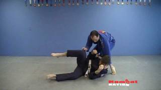 Side Control; Carlson Gracie choke video