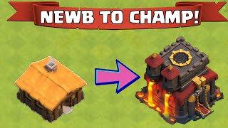 "Clash Of Clans NEWB TO CHAMP | ""GETTING STARTED AND HOW TO ATTACK"""