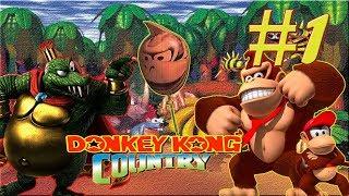 DONKEY KONG COUNTRY GAMEPLAY EN ESPAÑOL CON 10 VIDAS!