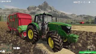 START 10:00 Upadłość Gospodarstwa Coraz Bliżej   Farming Simulator 19 - Na żywo