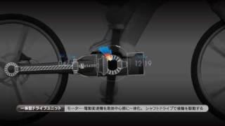 ヤマハハイブリッド自転車概念モデル 東京モーターショー 2009