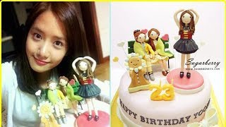 Yoona Surprise Birthday Cake So Happy Cute and Love Forever