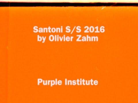 Santoni S/S 16 by Olivier Zahm - Purple Institute