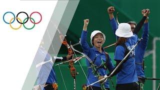 Chinese Taipei wins bronze in Women's Team Archery
