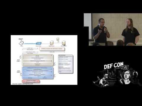 DEF CON 23 - Wireless Village - Vivek Ramachandran and Thomas Dotreppe - WPA Enterprise Hacking