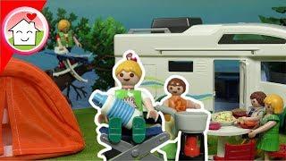 Playmobil Film deutsch - Camping mit Familie Hauser Mega Pack - Spielzeug Kinderfilm