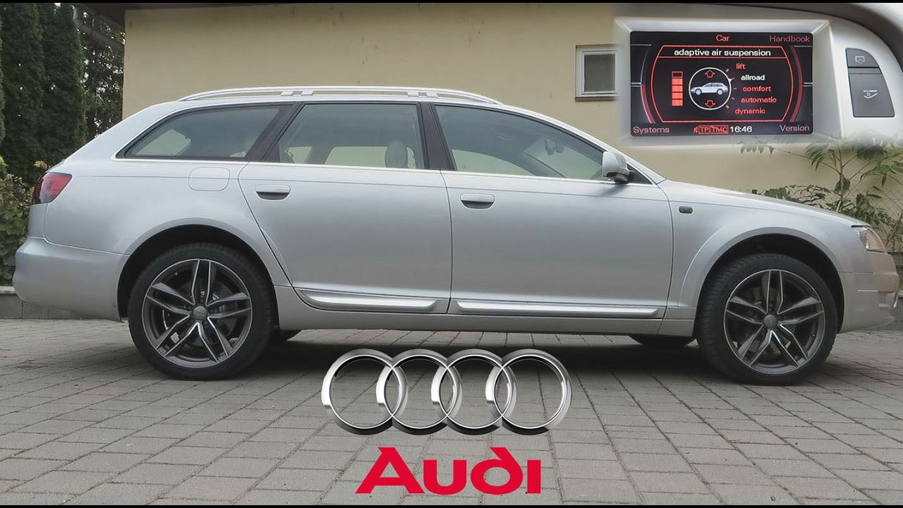 Audi allroad lifted