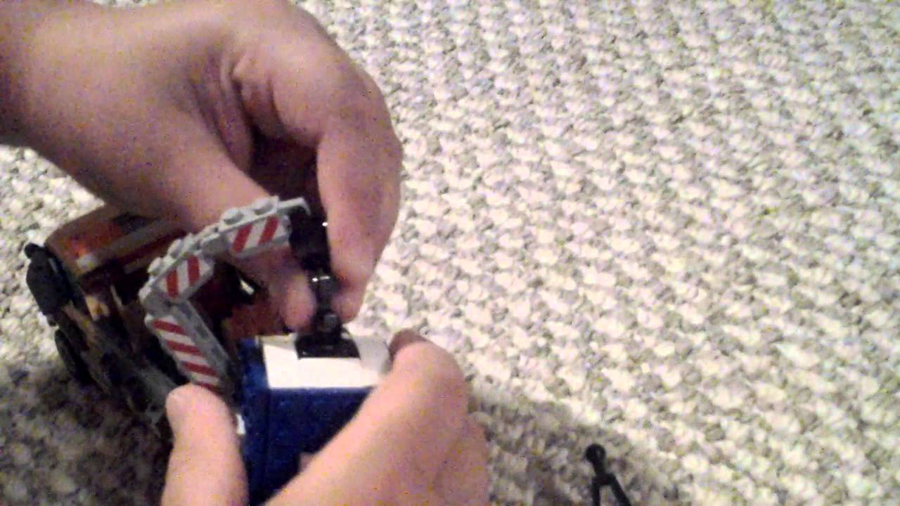 Lego city porta-potty truck - YouTube
