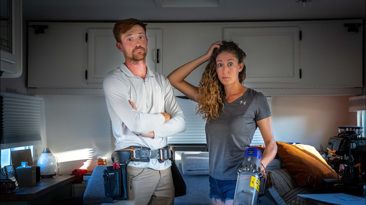 OUR MAIDEN VOYAGE DID NOT GO WELL   RV RENOVATION