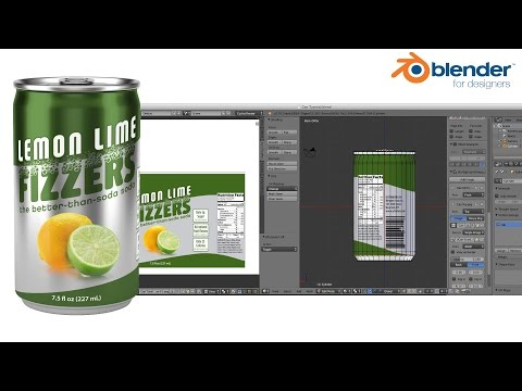 Blender for Packaging –  Modeling a Soda Can