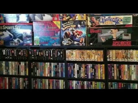 Epic Video Game Collection for Sale on Ebay