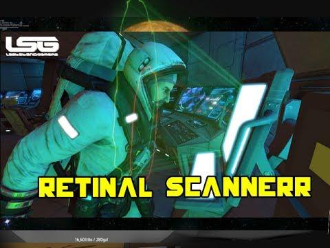 Space Engineers - Retinal Eye Scanner Concept