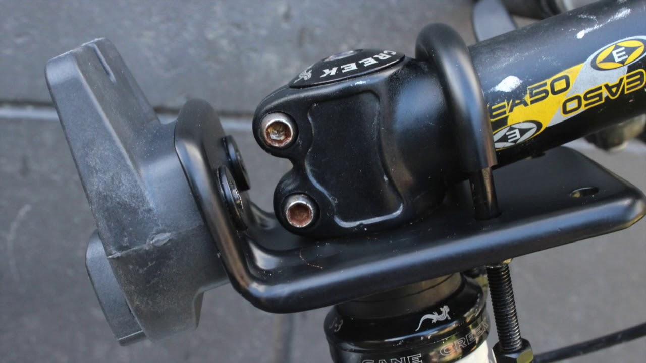 Attaching A Yepp Mini Using An A Head Adaptor Youtube