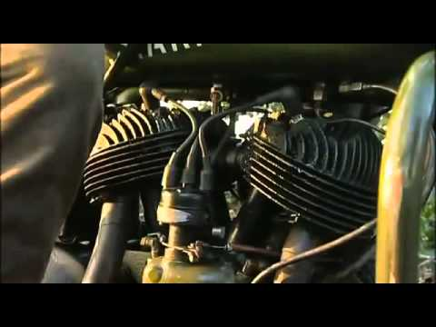 Big engine motorcycles, Harley-Davidson, Norton, Triumph