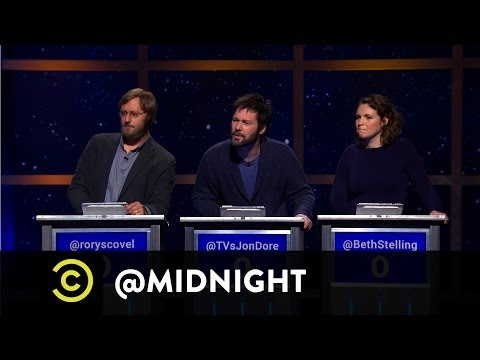 Rory Scovel, Jon Dore, Beth Stelling  Crash at My Place  @midnight with Chris Hardwick