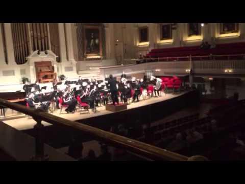 """Wedding Dance"" performed by Belchertown High School Wind Ensemble"
