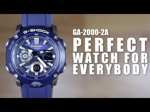 PERFECT WATCH FOR EVERYBODY - G-SHOCK GA-2000-2A - UNBOXING & SPEC