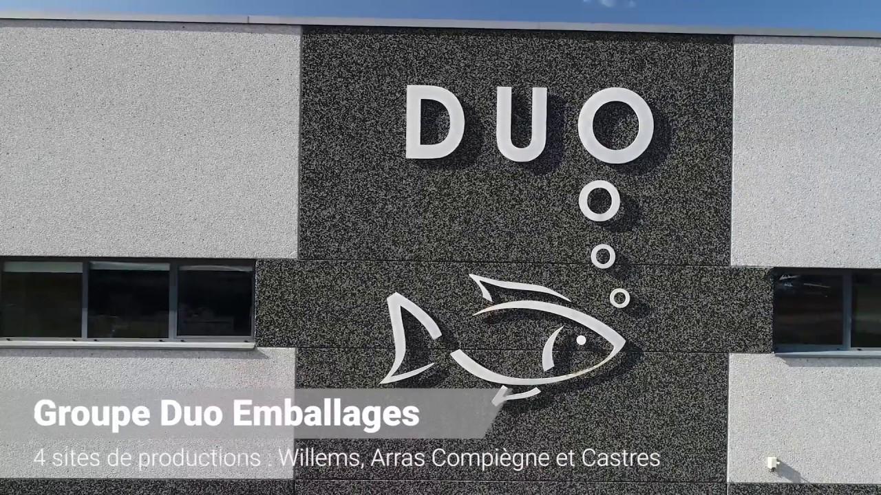 Présentation aérienne de Duo Emballages
