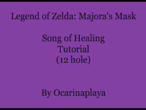 How to play Song of Healing (12 hole ocarina)