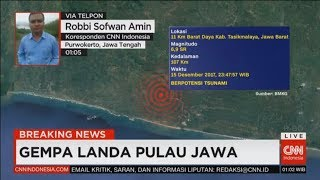 Download Video Breaking News! Gempa Landa Pulau Jawa, Gempa Tasikmalaya 6,9 SR MP3 3GP MP4