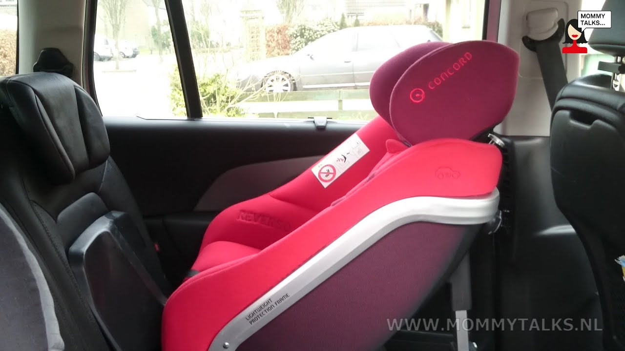 Car seat review Concord Reverso by Mommytalks