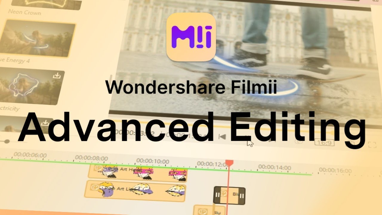 Download Wondershare Filmii - Advanced Timeline Video Editor