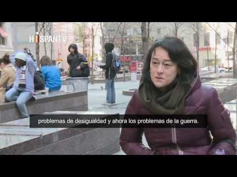 Occupy Wall Street (Español)  Parte 1