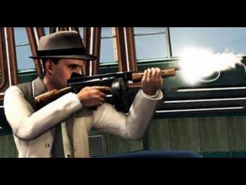 LA Noire: How To Get Guns In Free Roam - (LA Noire Guns In Free Roam) - PARODY