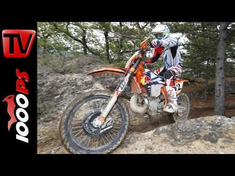 KTM Factory Enduro Test 2016 | Onboard, Offroad, Action