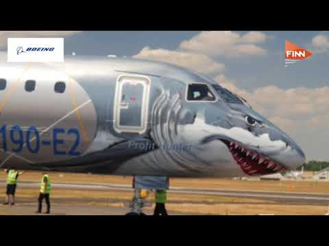 Farnborough Airshow 2018: The shark takes a big bite