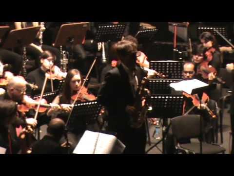 Scaramouche - Milhaud; II movimento: modèré
