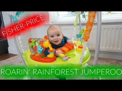 FISHER-PRICE ROARIN' RAINFOREST JUMPEROO REVIEW | AD