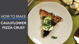 Cauliflower Pizza Crust (Keto-Friendly!)
