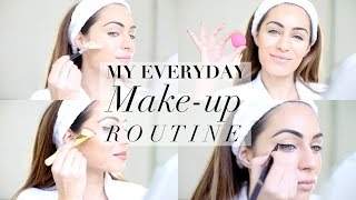 MY EVERYDAY MAKE-UP ROUTINE | THE BEST EYELINER EVER | Lydia Elise Millen