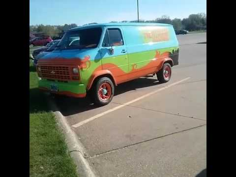 Scooby Doo & the gang actually solving mysteries in Clinton, Iowa???