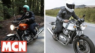 Royal Enfield Continental GT & Interceptor ridden | Motorcyclenews.com