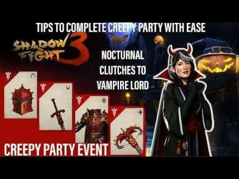 Shadow fight 3- Creepy party event with tortorus nightmare