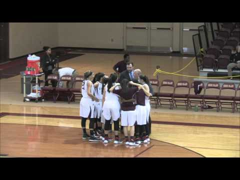 RIC Anchorwomen Basketball vs University of Southern Maine 1-13-16