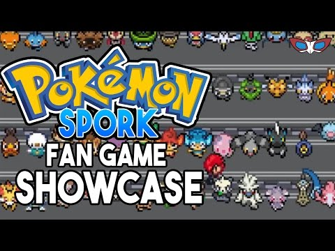 Pokemon Spork Fan Game Showcase ALL DEM STARTERS! ( Pokemon Fan Game Showcase #12 )